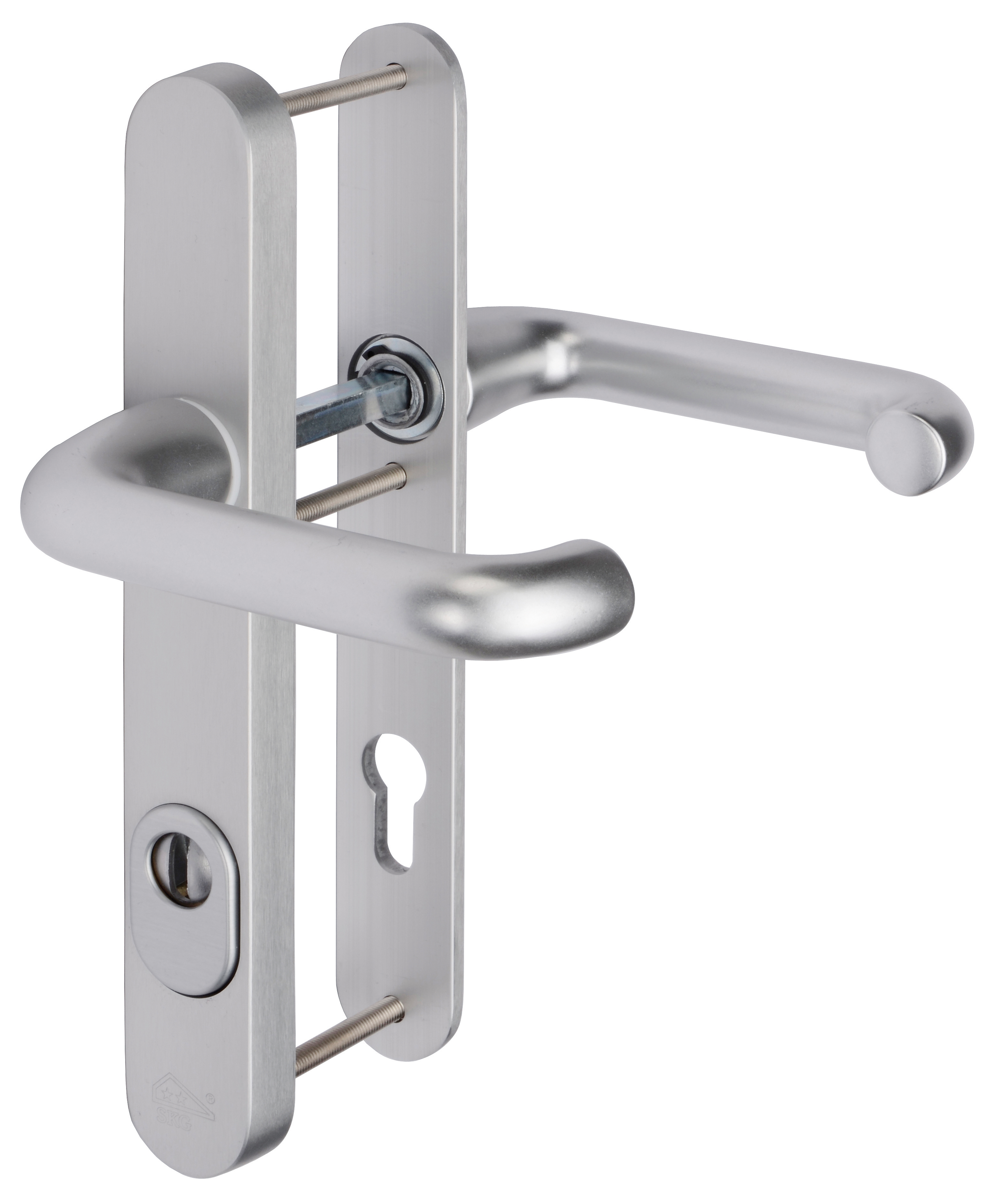 Art. No. 9098/208, Profile door set with cylinder tear-off protection